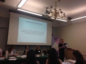 York Antiquarian Book Seminar - Jonathan Kearns speaking in poetic tongues