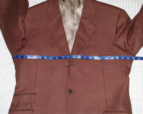 jacket chest measurement
