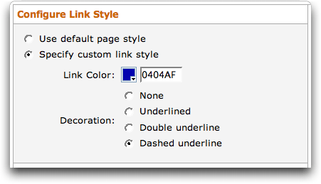 Amazon Context Links (Beta): Configure Link Style