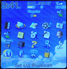 Blackberry Pearl 8100: Bluetooth Setup
