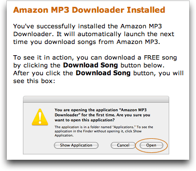 Amazon's AmazonMp3 Mp3 Download tool / app / utility: Installed!