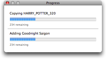 Mac iTunes Senuti: Copying Harry Potter AVI movie from iPhone to Mac iTunes