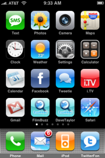 apple iphone rearranging icons 4