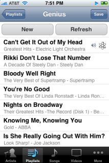 iphone ipod first genius playlist (free apple iphone help)