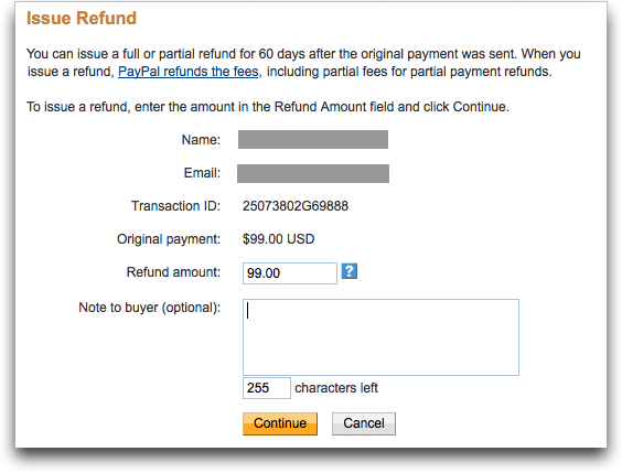 paypal refund transaction 4