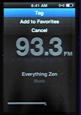 ipod nano 5g fm radio tag song