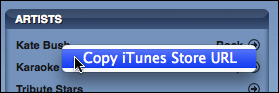 itunes store search results copy url 2
