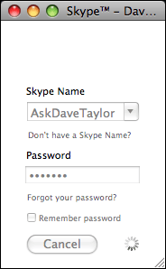 skype new account signing in
