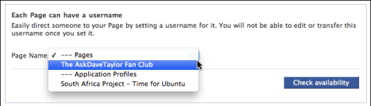 facebook username set custom url 2