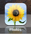ipad icons photos