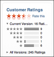 itunes store rate app ihound
