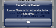 iphone 4 facetime 0