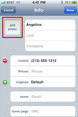 iphone assign contact photo 88