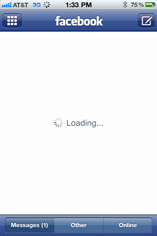 iphone facebook app freeze restart 7
