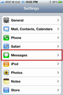 iphone stop disable multiple text message notify 2