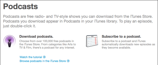 itunes subscribe podcast 2