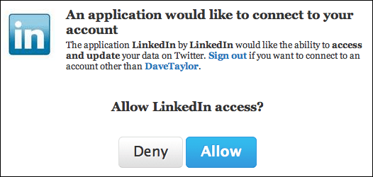 linkedin add twitter account 4