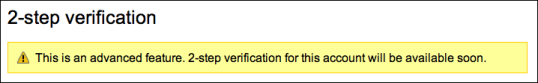 google gmail 2 step verification 1a