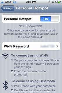 ipad iphone online personal hotspot 3