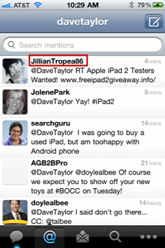 iphone twitter report tweet spam 1
