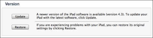update ipad ios firmware 1