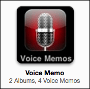 itunes iphone voice memo 3