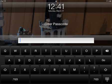 ipad complex password 5