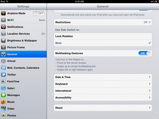 ipad wipe reset clear 2
