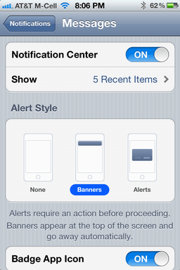 iphone text message privacy 3