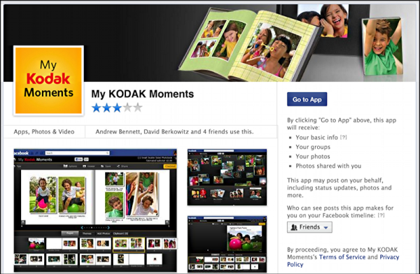 my kodak moments facebook page