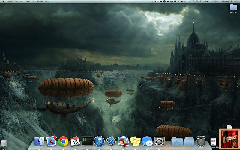 mac os x panther lion leopard dock