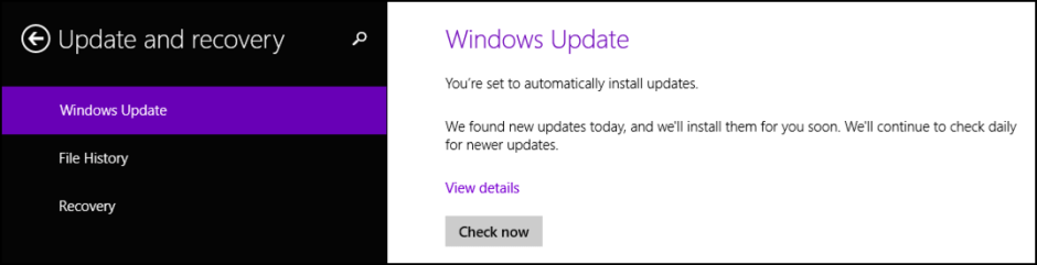 force windows update