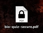 secure PDF icon on mac os x