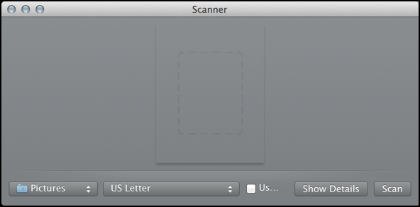 open scanner, scanning software macos
