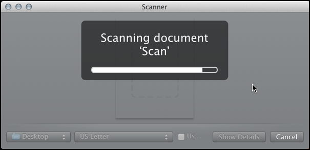scanning image remotely, mac scanner software