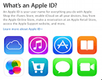 create new apple id appleid