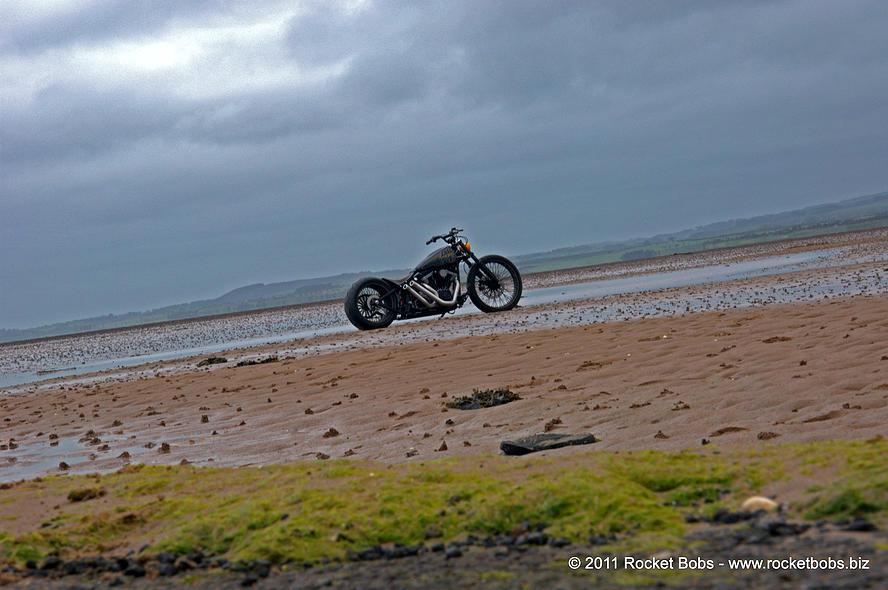 Harley-Davidson – Rocker C – Customized By Rocket Bobs of 27 by Jermaine