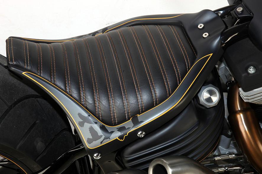 Harley-Davidson – Rocker C – Customized By Rocket Bobs of 20 by Jermaine