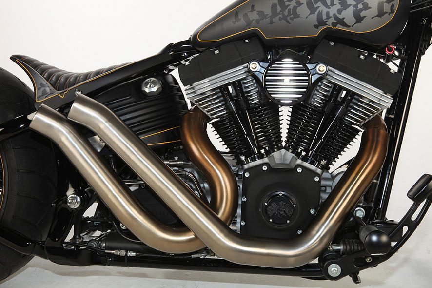Harley-Davidson – Rocker C – Customized By Rocket Bobs of 10 by Jermaine