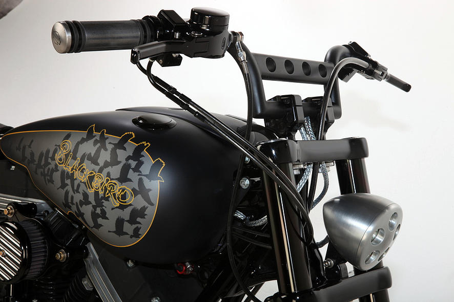 Harley-Davidson – Rocker C – Customized By Rocket Bobs of 16 by Jermaine
