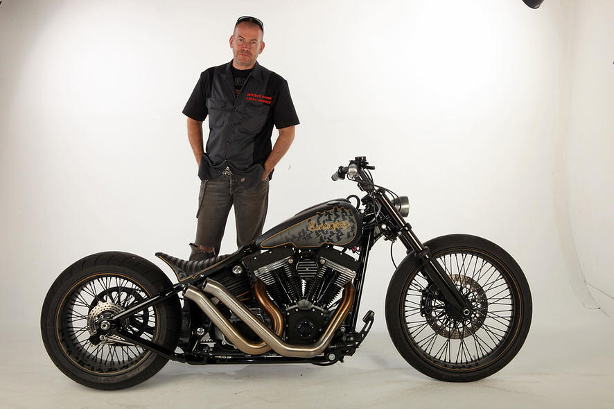 Harley-Davidson – Rocker C – Customized By Rocket Bobs of 7 by Jermaine