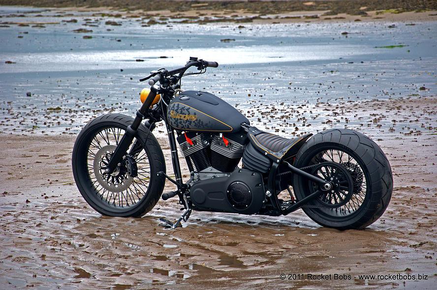 Harley-Davidson – Rocker C – Customized By Rocket Bobs of 32 by Jermaine