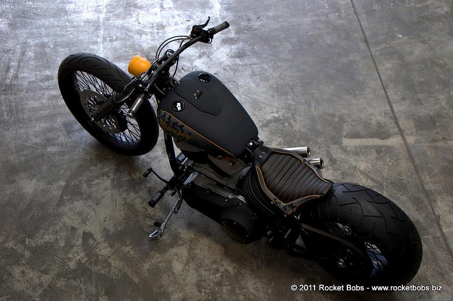 Harley-Davidson – Rocker C – Customized By Rocket Bobs of 11 by Jermaine