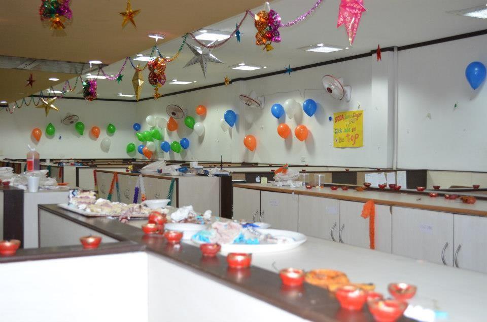 11 Beautiful Diwali Decoration Ideas For Office of 3 by Malik