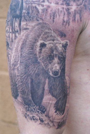 14 Incredible Wildlife Tattoo Images And Designs of 8 by Kristopher