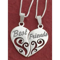 Cheery Quotes Friend Heart Pendent Friend Forever S Friend S Instagram Friend S