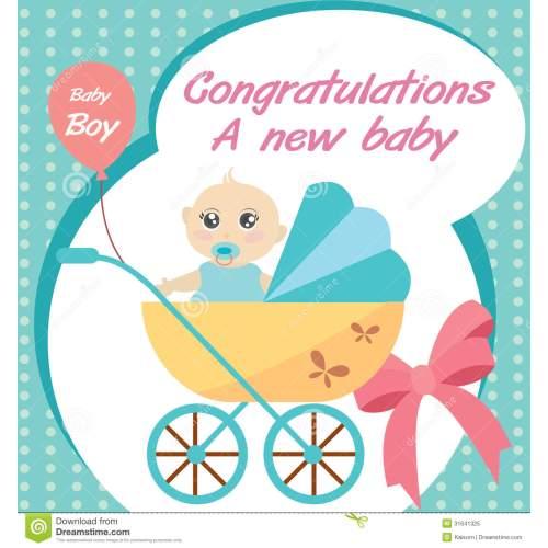 Medium Crop Of Congratulations New Baby