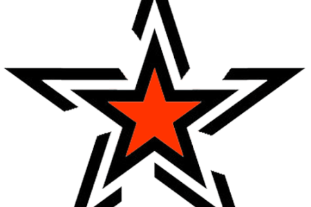 stylish star tattoo design