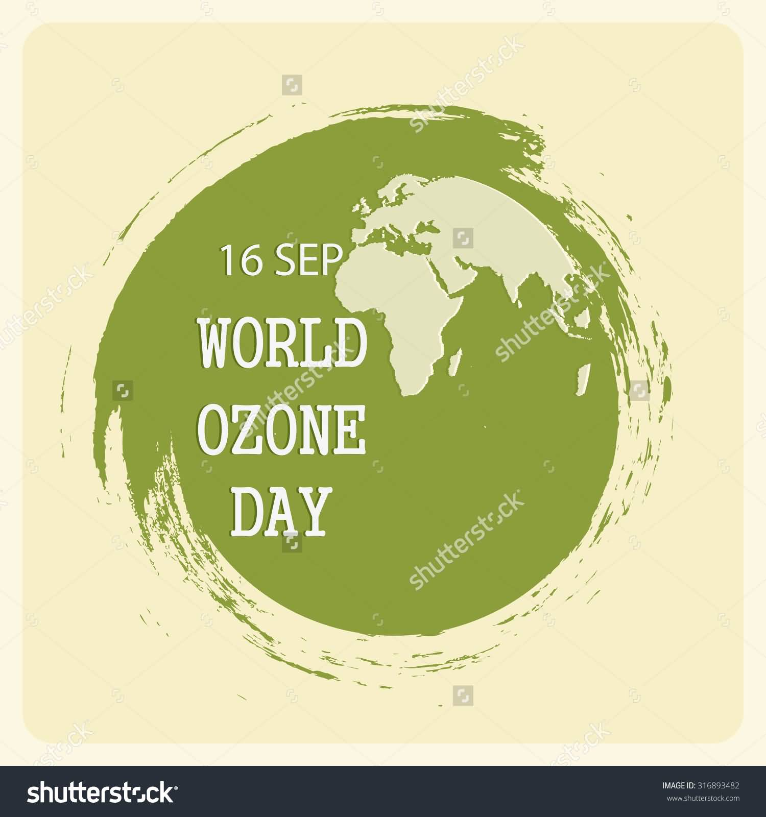 Marvelous 16 September World Ozone Day Earth Globe Vector Illustration 16 September Russ 16 September Personality dpreview 16 Sep