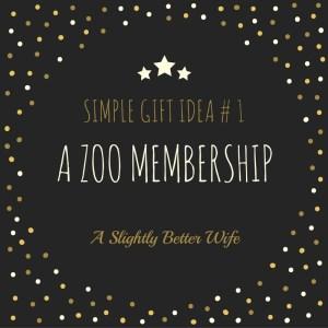 Simple Gift Idea #1